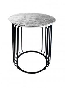 Spangle End Table