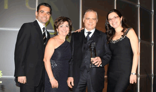 Angelo Marzilli Honoured at Recent Gala