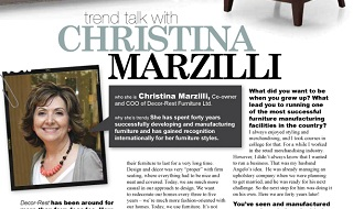 Trend Talk with Christina Marzilli - Canadian Home Trends