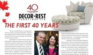 Decor-Rest The First 40 Years