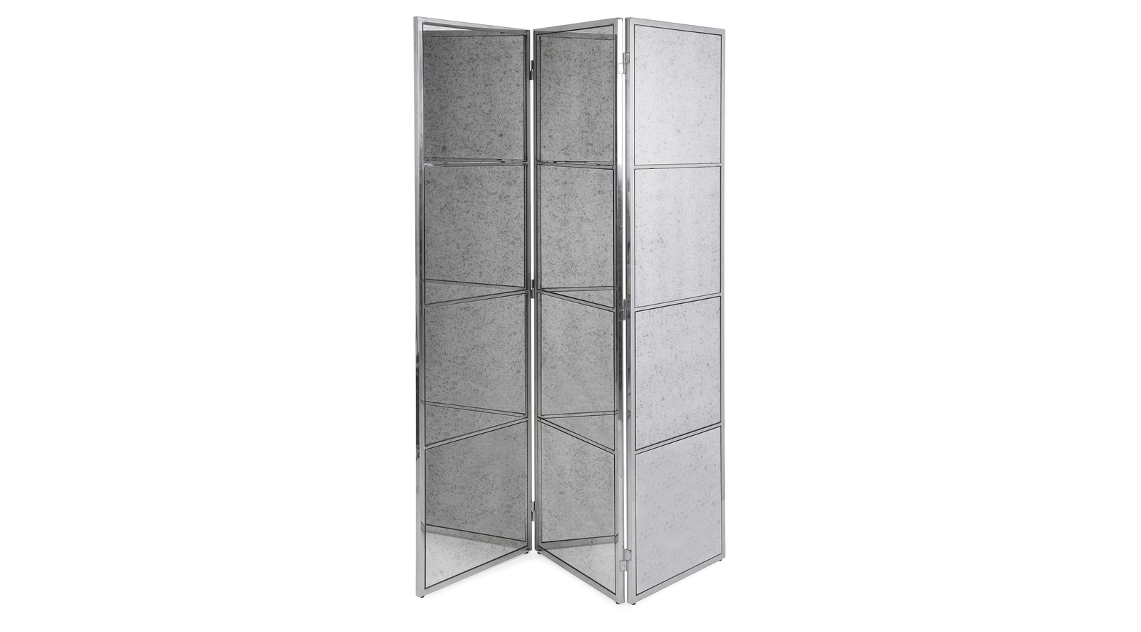 Luxe Mirrored Room Divider