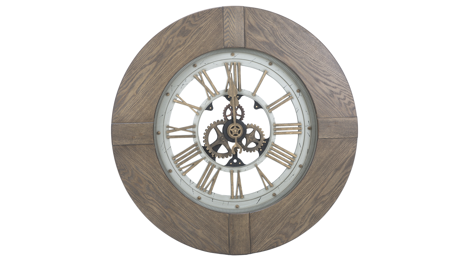 Ironwork Wall Clock