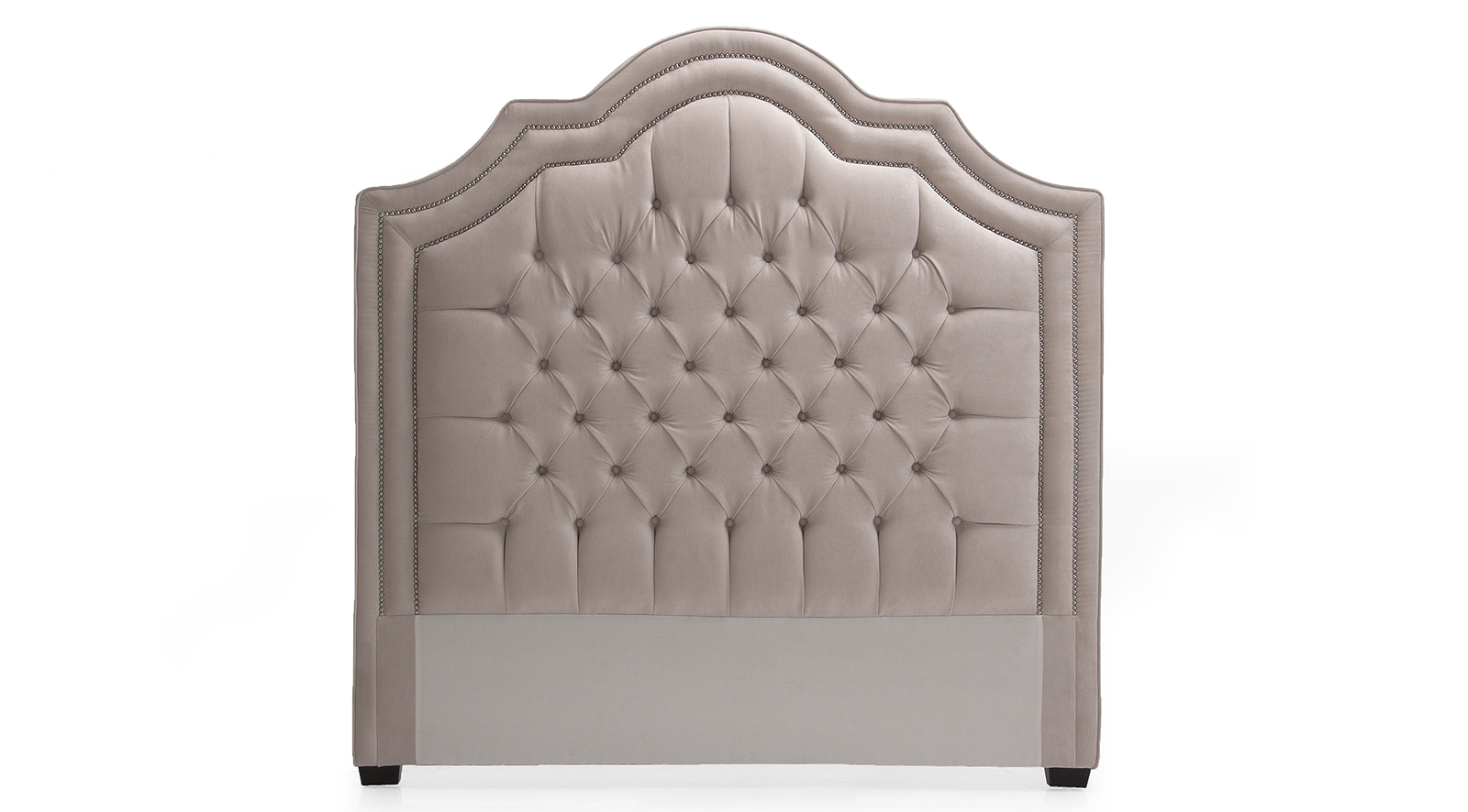 Leather Headboard & Base 111 - Queen
